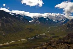 Bergen en valleien in Jotunheimen, Noorwegen Stock Afbeeldingen