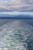Bergen en water Royalty-vrije Stock Fotografie