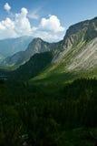 Bergen en wolken Royalty-vrije Stock Fotografie