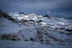 Bergen en Wolken Royalty-vrije Stock Afbeelding