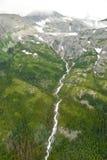 Bergen en Wolken in Alaska Royalty-vrije Stock Fotografie