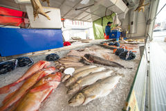 Bergen fish market Royalty Free Stock Photos