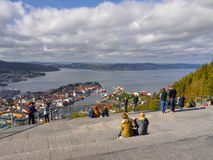 Bergen, Floyen View, Norway Stock Photo