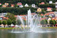 Bergen Fountain Image stock