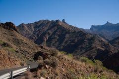 Bergen in Gran Canaria royalty-vrije stock foto