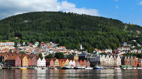 Bergen harbor Stock Photos