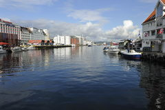 Bergen Harbor, Norway Royalty Free Stock Photo