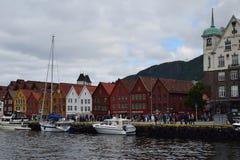 Bergen Harbour Royalty-vrije Stock Afbeelding