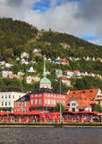 Bergen Harbour Royalty Free Stock Photo