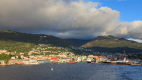 Bergen Harbour Royalty Free Stock Photography