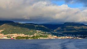 Bergen Harbour Stock Photo