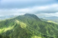 Bergen in Hawaï stock fotografie