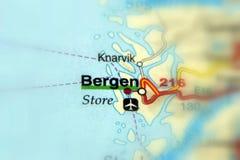 Bergen, Hordaland, Norvegia - Europa royalty illustrazione gratis
