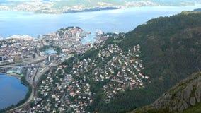 Bergen, Hordaland, Norwegen stock video footage