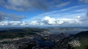 Bergen, Hordaland, Norwegen stock footage