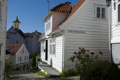 Bergen houses, norway Royalty Free Stock Images