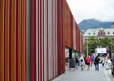 Bergen-Informationsbüro Stockbild