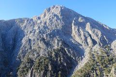 Bergen in Kreta Royalty-vrije Stock Afbeeldingen