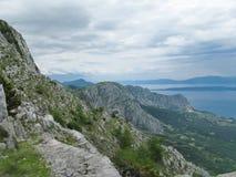 Bergen in Kroatië - Biokovo Stock Afbeeldingen