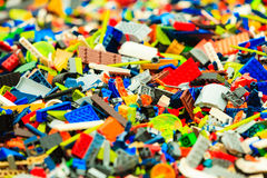 Bergen, Lego building during The Thall Ships Races on July 25, 2014 Norway Stock Photo