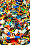 Bergen, Lego-Gebäude während des Thall versendet Rennen am 25. Juli 2014 Norwegen Stockfoto