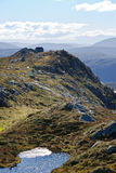 bergen liggande norway Arkivbild