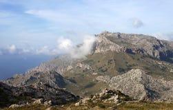 Bergen in Majorca - RUW formaat Stock Afbeelding
