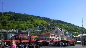Bergen market Stock Images