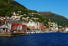 Bergen, Noorwegen Stock Fotografie