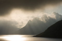 Bergen in Noorwegen Royalty-vrije Stock Foto