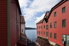 bergen noorwegen Stock Foto's