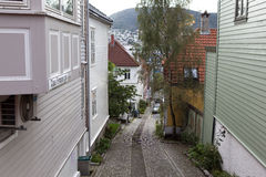 bergen noorwegen Royalty-vrije Stock Foto