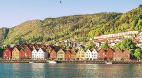 Bergen, Noorwegen stock afbeeldingen