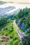 Bergen, Noorwegen Stock Afbeelding