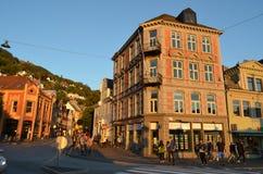 Bergen, Noorwegen Stock Foto's