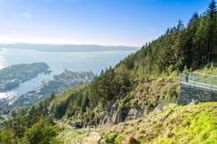 Bergen, Noorwegen Royalty-vrije Stock Foto's