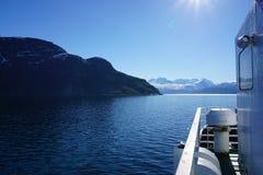 Bergen in Noorwegen Royalty-vrije Stock Foto's