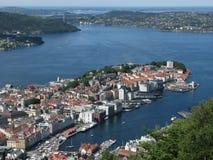 Bergen, Noruega Foto de Stock Royalty Free