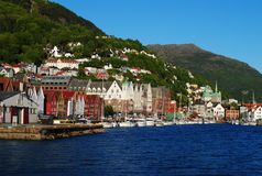 Bergen, Norvège Photographie stock