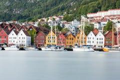Bergen, Norvège Photo libre de droits