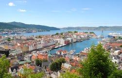 Bergen Norvegia Immagini Stock