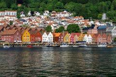 Bergen, Norvegia Fotografia Stock Libera da Diritti