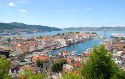 bergen Norway Obrazy Stock