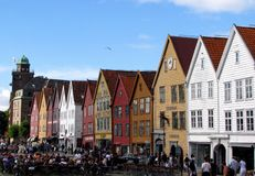 Bergen, Norway Stock Photography
