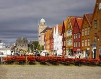 bergen Norway Zdjęcia Royalty Free