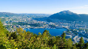 bergen norway Royaltyfri Bild
