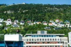 bergen norway Arkivfoto