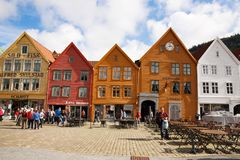Bergen city Stock Photography