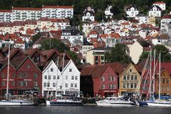 BERGEN, NORWAY Royalty Free Stock Photography