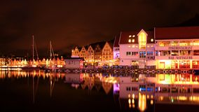 Norway 2013. Bergen Norway city center port in summer 2013 royalty free stock image